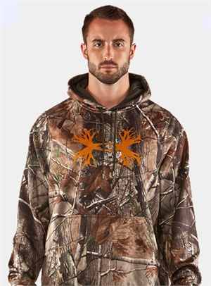 Mossy Oak Infiniti Under Armour Camo Antler Hoody II in stock now in S-XL while supplies last!!