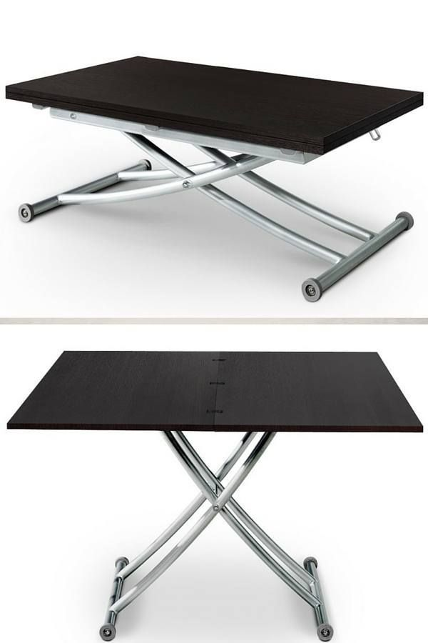 25 best ideas about table basse transformable on - Table basse a plateau relevable ...