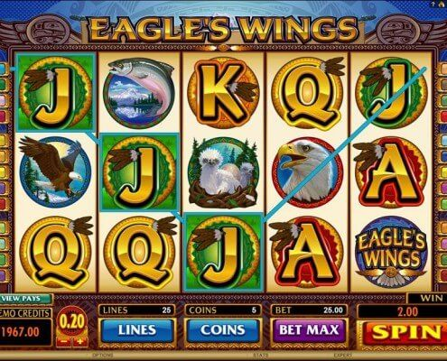 Spiele EagleS Wings - Video Slots Online