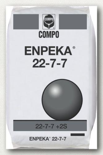 ΚΟΚΚΩΔΗ ΛΙΠΑΣΜΑΤΑ_Enpeka_Enpeka 22-7-7  Σύνθεση: 22-7-7 + 2S   Ιδανικό για καλλιέργειες με απαιτήσεις σε όλα τα βασικά στοιχεία, αλλά κυρίως στο άζωτο.