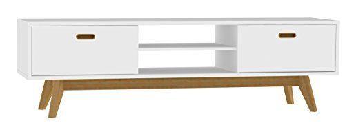 Tenzo 2162 001 Bess Designer TV Bank, lackiert, Matt, 50 x 170 x 43 cm, weiß / eiche sieht in Design, Funktionen und Funktion gut aus. Die beste Leistung dieses Produkts ist in der Tat einfach zu reinigen und zu kontrollieren. Das Design und das Layout sind absolut erstaunlich, die es wirklich interessant und schön machen.....