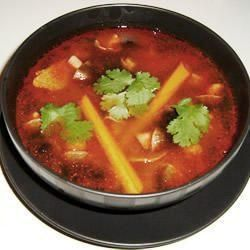 Authentic Thai Tom Yum Soup