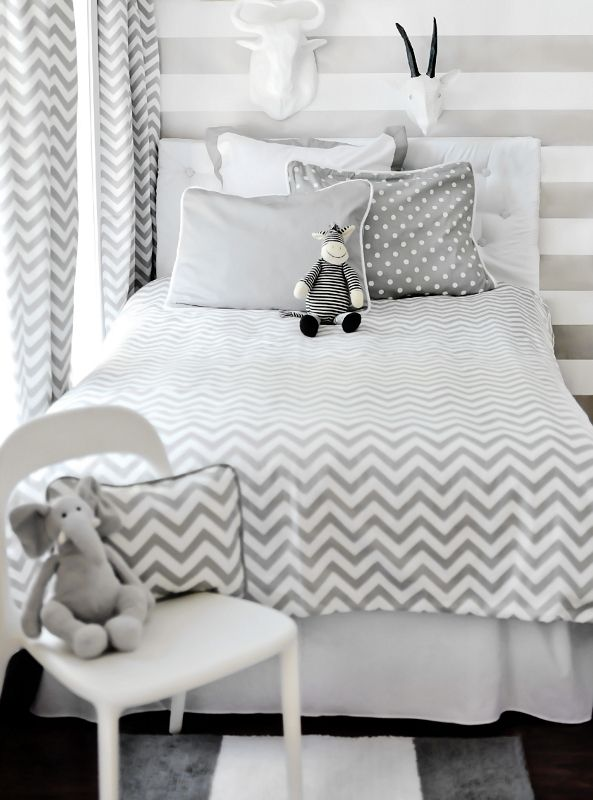 Love this bedding with the new bed we just got for the boys room!