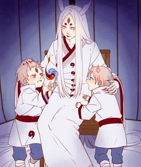Kaguya, Hagoromo, and Hamura