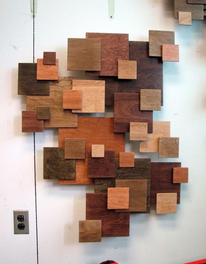 Wanddekoration selber machen holz  217 besten Wanddeko für ein modernes Zuhause Bilder auf Pinterest ...