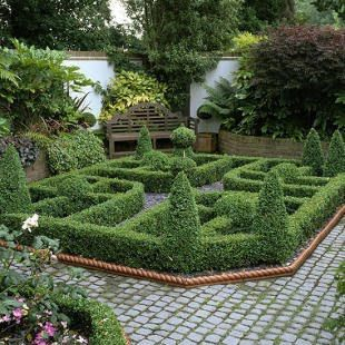 58 best Small Formal Gardens images on Pinterest Formal gardens