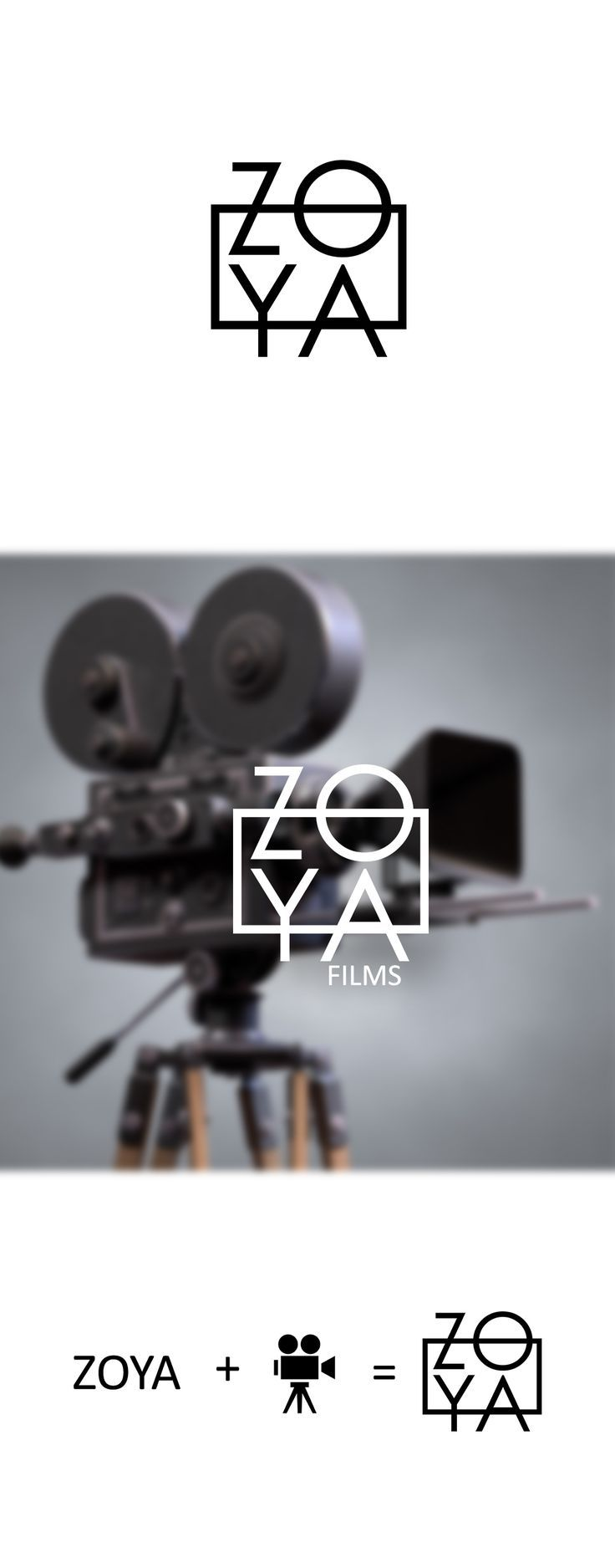 Film company Zoya logo concept on Behance – #Behan…