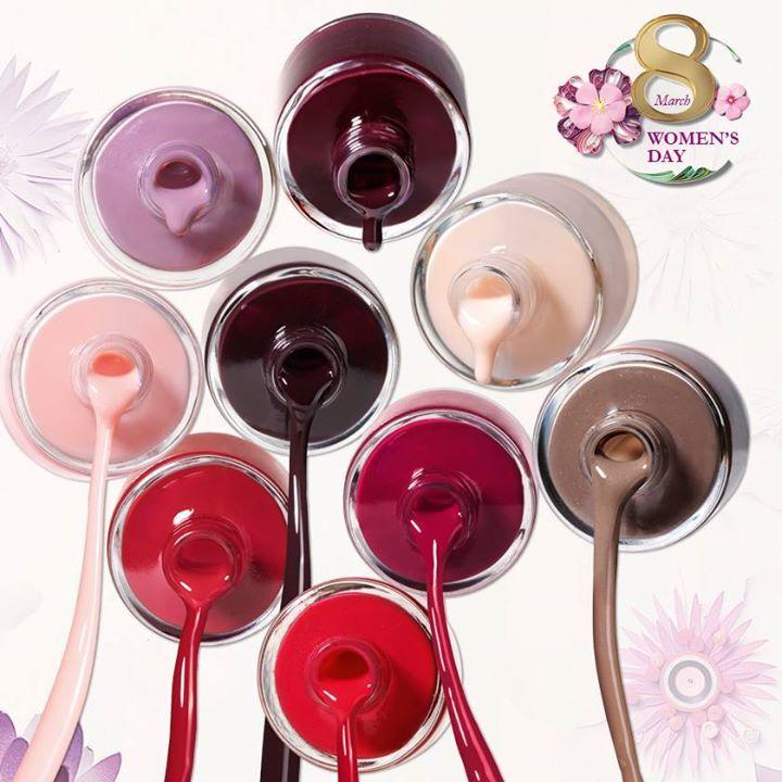 Oriflame Pure Colour nail polishes