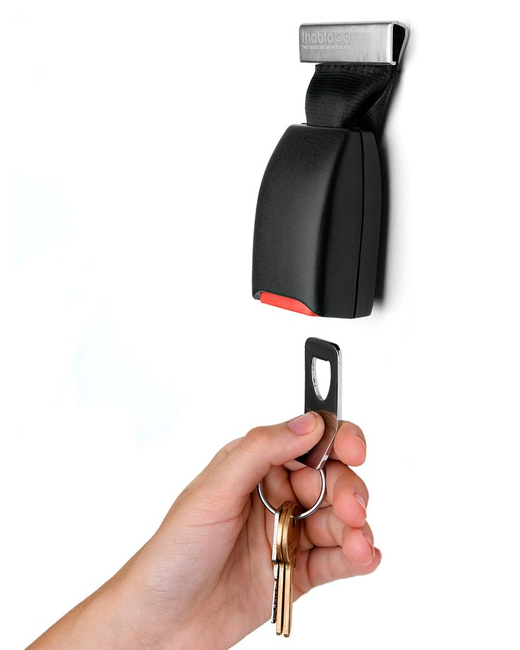 Sean needs this! Never can find his keys.  It will be perfect IF he uses it.