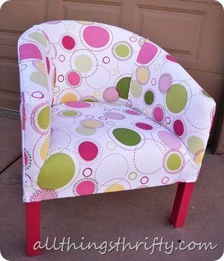 """recouvrir un fauteuil """"rapidement"""""""