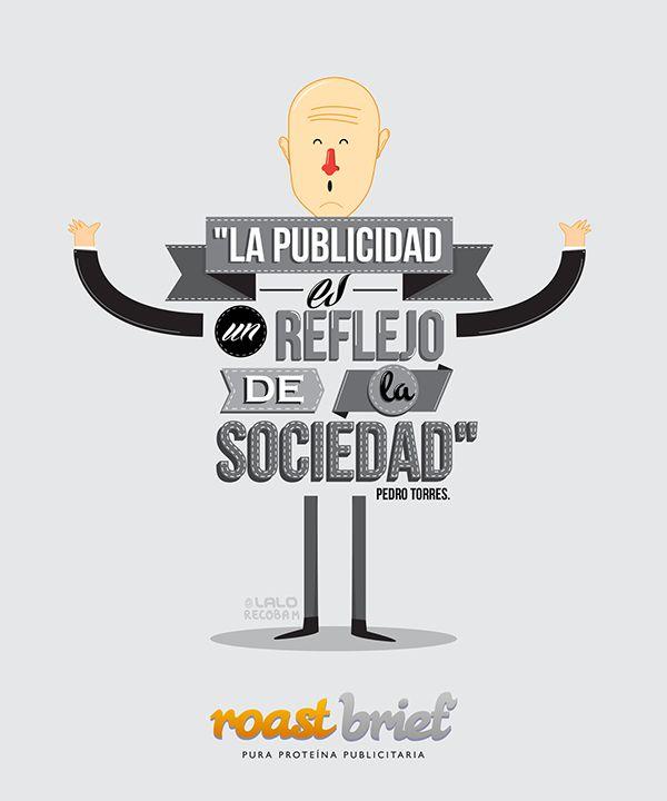 """""""La publicidad es un reflejo de la sociedad"""" Pedro Torres"""