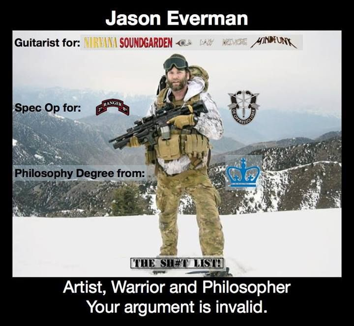 Jason Everman!