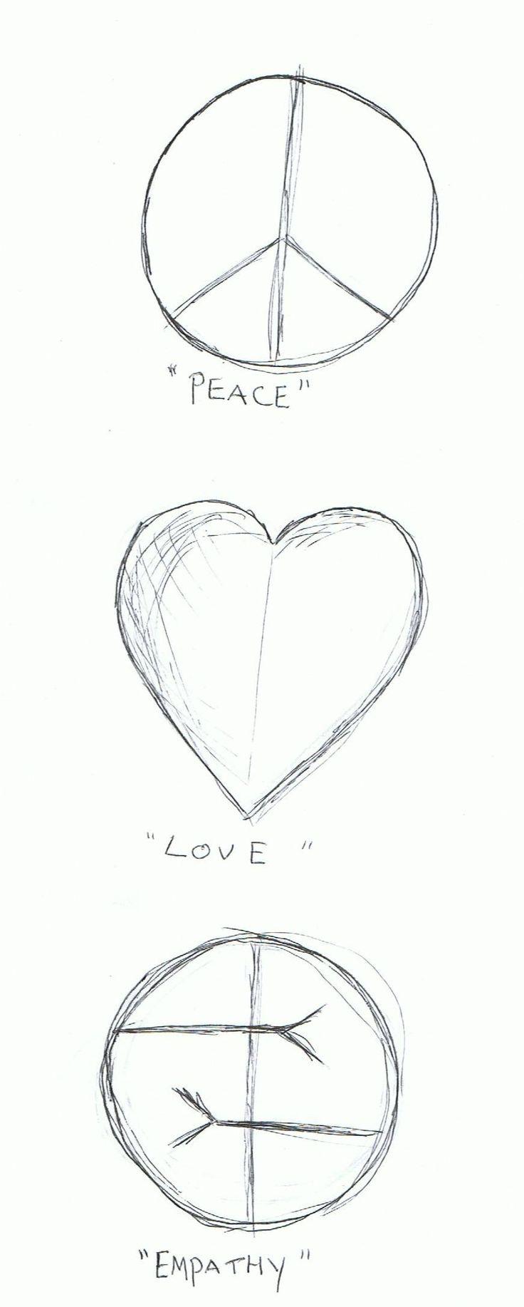 Peace, love, empathy ~ Kurt Cobain