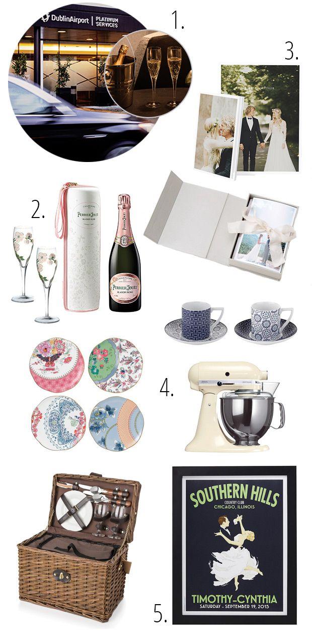 best modern wedding gift list images on pinterest - a little luxury  fab wedding gift ideas