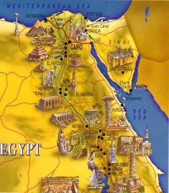 Best Ancient Egypt For Kids Images On Pinterest Ancient - Map of egypt for primary school