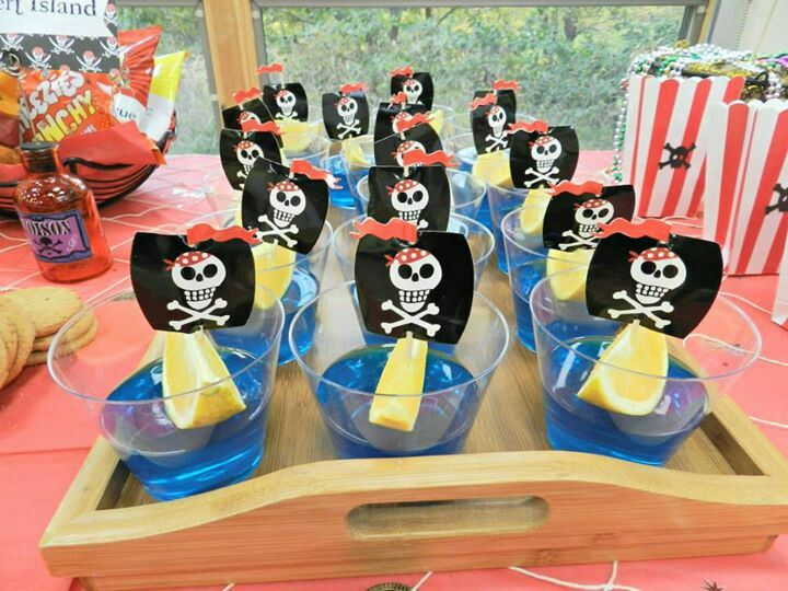 Pirate Party sweets