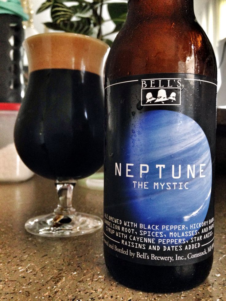 Neptune, is the final beer in the Planets Series.  Inspired by one of Larry Bell's old homebrew recipes and the music of Gustav Holst, this complex, strong and spiced Imperial Stout offers prominent herbal notes along with flavors of chocolate, roasted malt, licorice/anise and pepper with a touch of heat.  Reminiscent of a mystical creation brewed in days gone by, this beer is a good candidate for aging due to the robust characteristics of its ingredients. SPICES:  Star anise, dried cayenne…