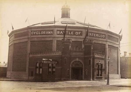 Fitzroy history - the Cyclorama on Victoria Parade #melbourne #history