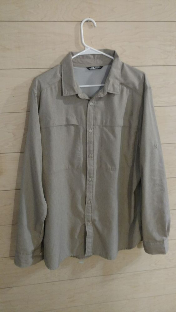 9b190ee751c Men s The North Face Shirt XL. Extra Large. Long Slv Cool Horizon. Button.  Tan  fashion  clothing  shoes  accessories  mensclothing  shirts (ebay link)