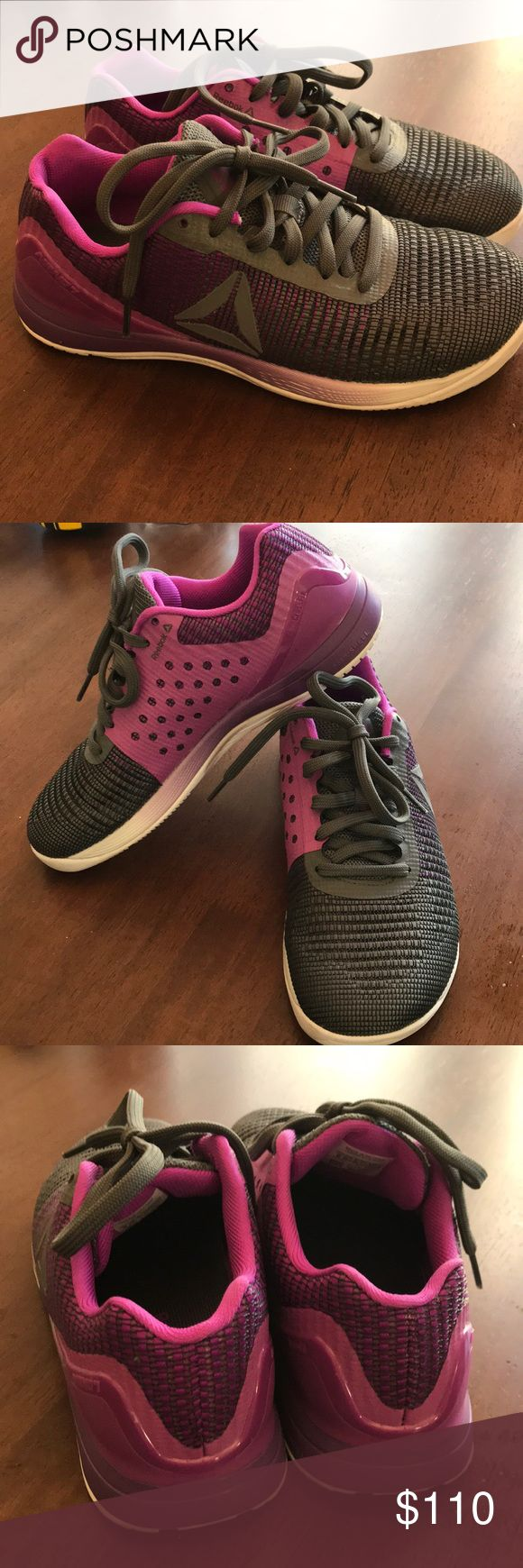 Crossfit Nano 7 weave (sz 8) Worn for one WOD. As evidenced by