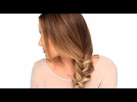 TUTORIAL : Treccia a Spiga (o spina di pesce) - YouTube