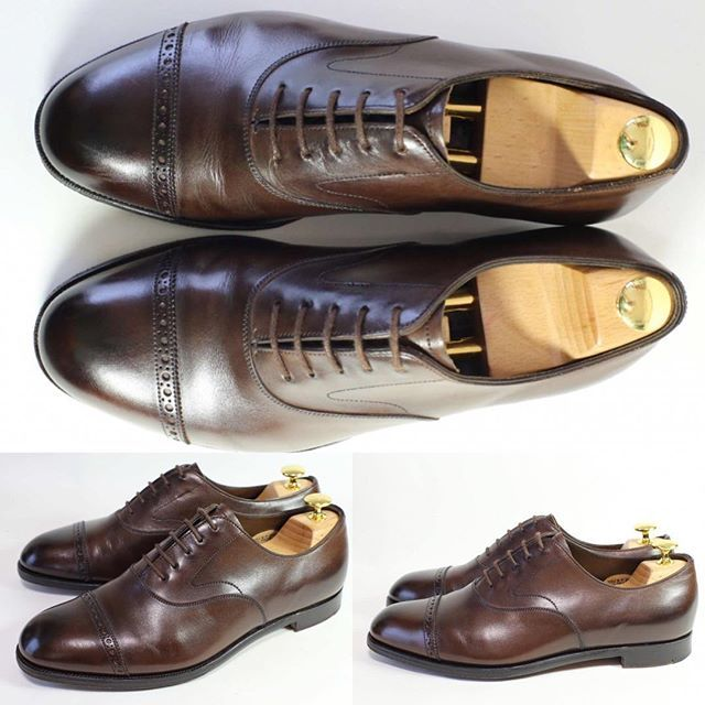 2017/06/21 12:50:23 shoesaholic1 EDWARD GREEN BERKELAY. * グリーンの定番バークレーです😁パンチドキャップトゥのダークオークはオンにもオフにも使えて便利です!! * 状態もキレイです😁 * ITEM ID : 804 * #edwardgreen  #シューホリック #shoes #Mensshoes #shoepolish #boots  #Mensfashion #bespoke #tailar #stylish #fashiongram #instastyle #lookbook #luxury #gentleman #styleforum #ootd #高級靴 #靴磨き #足元くら部 #足元倶楽部  #高級 #オールデン #パラブーツ #ジョンロブ #エドワードグリーン  #クロケットアンドジョーンズ