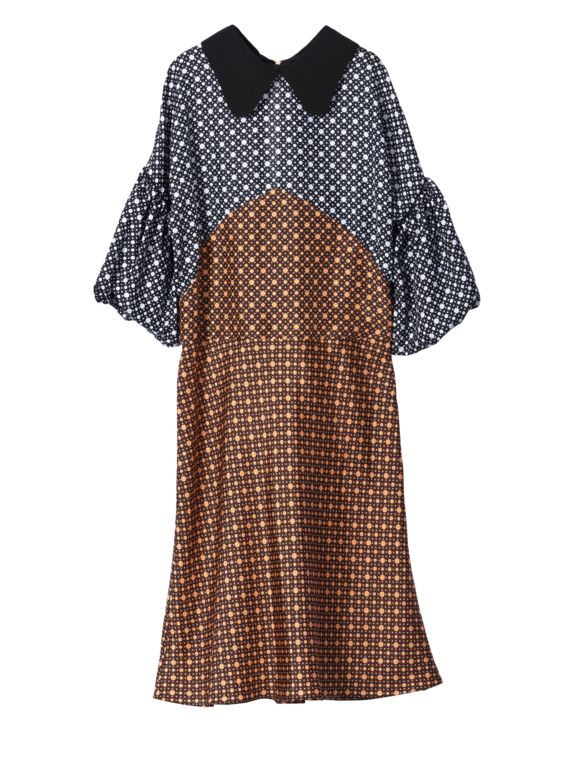 Cheap Manchester Great Sale Clearance Online Ebay checked collar dress - Green Marni How Much Online Outlet Pre Order htAaH
