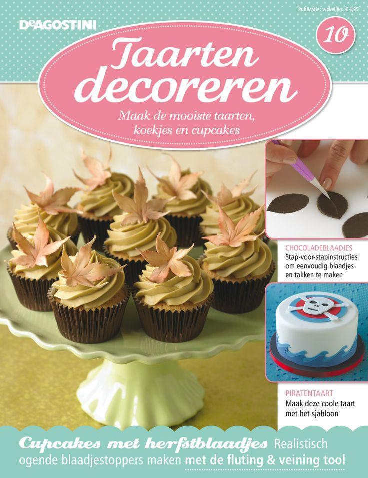 Deagostini Cake Decorating Kit : Taarten Decoreren 10 Magazine covers Pinterest