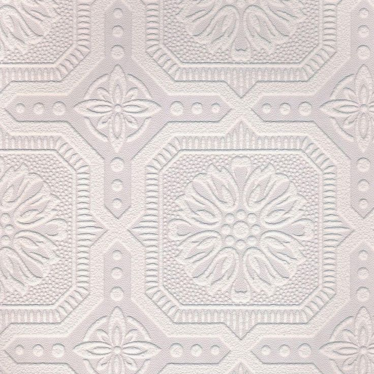 White Paintable Wallpaper Paintable wallpaper, Textured