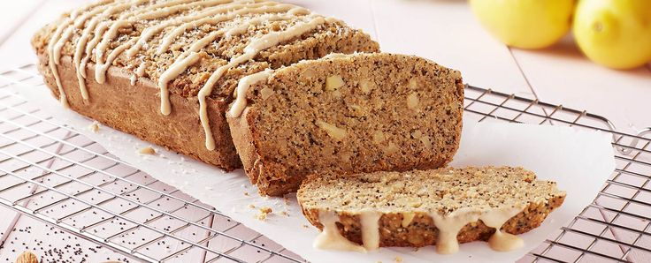 This recipe uses no oil, and still bakes up moist without being greasy. You can serve this festive and hearty poppy seed cake plain or with Lemon Frosting.