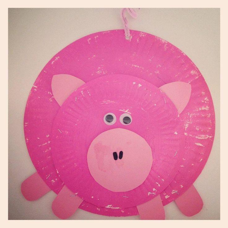 farm animals paper plates - Google Search