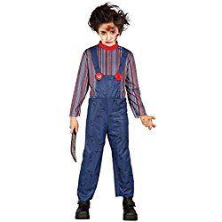 Disfraz de Chucky para bebe