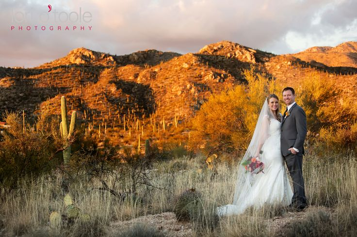 Tanque Verde Guest Ranch wedding | Lori OToole Photography | sunset in Tucson