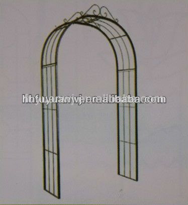 Galvanized And Pvc Coated Iron Arch Garden Gate For Sale   Buy Iron Arch  Garden Gate,Garden Arch Wrought Iron Gate And Fence,Cheap Garden Gates  Product On ...