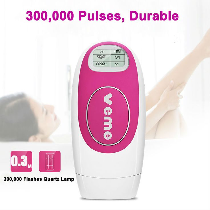 veme Permanent IPL Hair Removal Machine Man Woman Painless Laser Hair Removal 300,000 Pulses