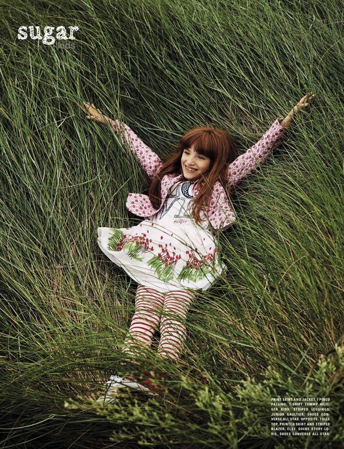Lucia from Sugar Kids for Vogue Bambini by Marco Tassinari.