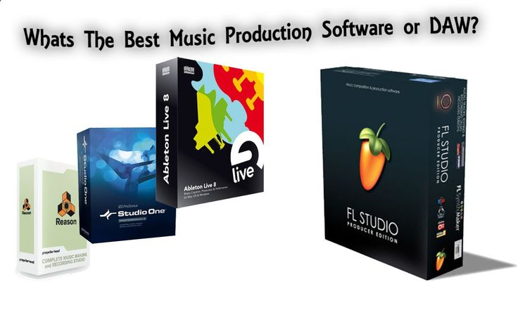 The Best Music Production Software - Best DAW's (digital audio workstation) in 2013 #daw #musicproduction #flstudio #abletonlive #studioone #reason