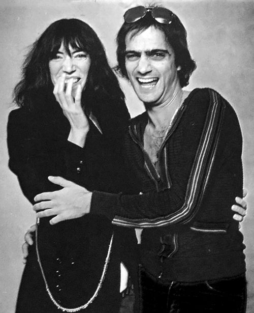 patti with the producer jimmy iovine