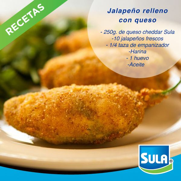 65 best recetas sula images on pinterest cooking recipes baking chipotle jalapeo poppers with gold medal flour forumfinder Images