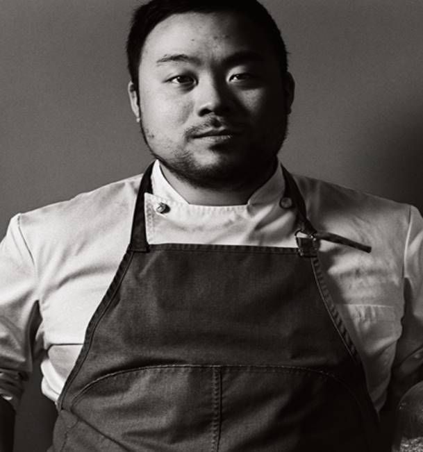 David Chang is a Korean-American restaurateur, author, and television personality. He is the founder of the Momofuku restaurant group, which includes Momofuku Noodle Bar, Momofuku Ssäm Bar, Má Pêche, Milk Bar and Momofuku Ko in New York City, Momofuku Seiōbo in Sydney, Australia, the Momofuku Toronto restaurants Momofuku Noodle Bar (TO), Nikai, Daishō and Shōtō, and Momofuku CCDC in Washington, DC. In 2009 Ko was awarded 2 Michelin stars, which it has retained each year since.