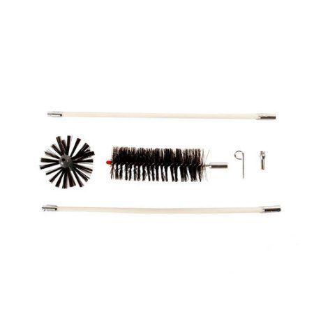 Gardus Rjr601 4-Piece LintEater Jr. Dryer-Vent Cleaning Kit, Black