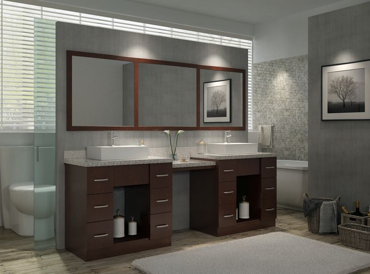 Modern Double Sink Bathroom Vanity Ideas: 104 Best Luxury Bathroom Vanities Images On Pinterest
