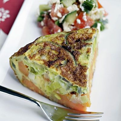 Make your mom this healthy Greek Frittata for her #MothersDay Brunch. | Health.com