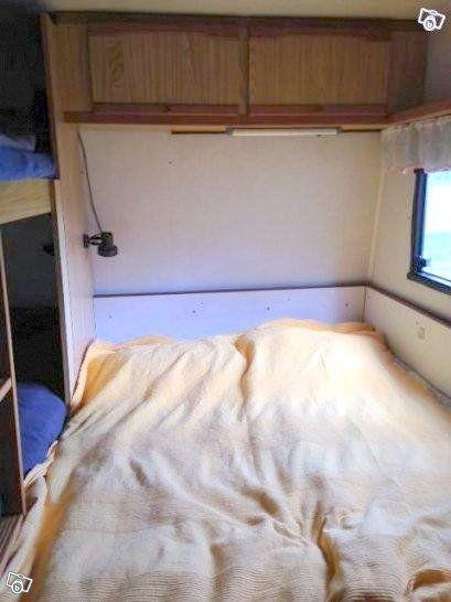 Cabby 550 DLX med våningssäng o dubbelsäng