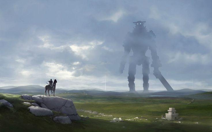 Shadow of the Colossus. (Fan Art) 1920x1200 - Imgur