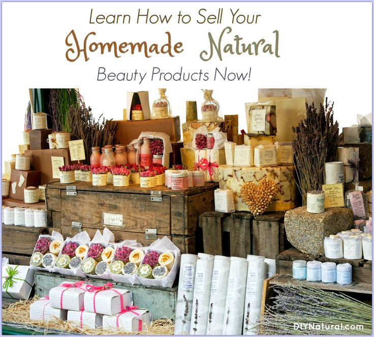 Do you want to sell homemade products you make? Use these tips from someone who has been making, using, and selling natural beauty products for years!