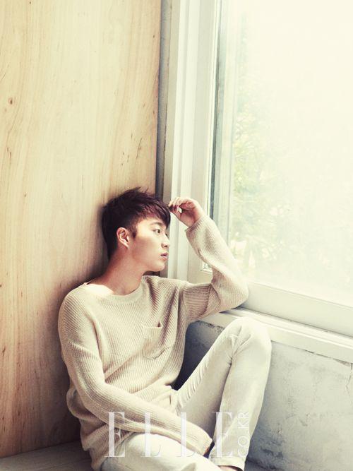 BEAST's Yoon Doo Joon Elle Korea Magazine