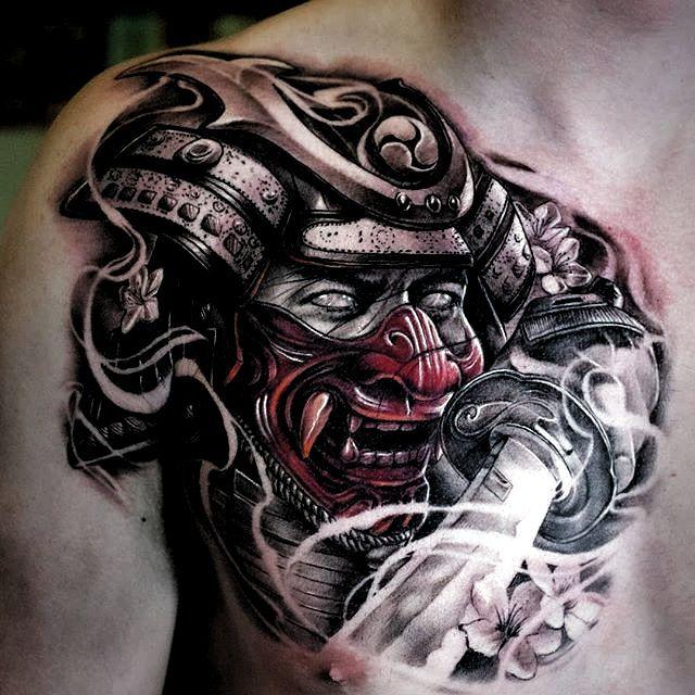 Marquesan Tattoos Oriental In 2020 Samurai Tattoo Design Oriental Tattoo Warrior Tattoos