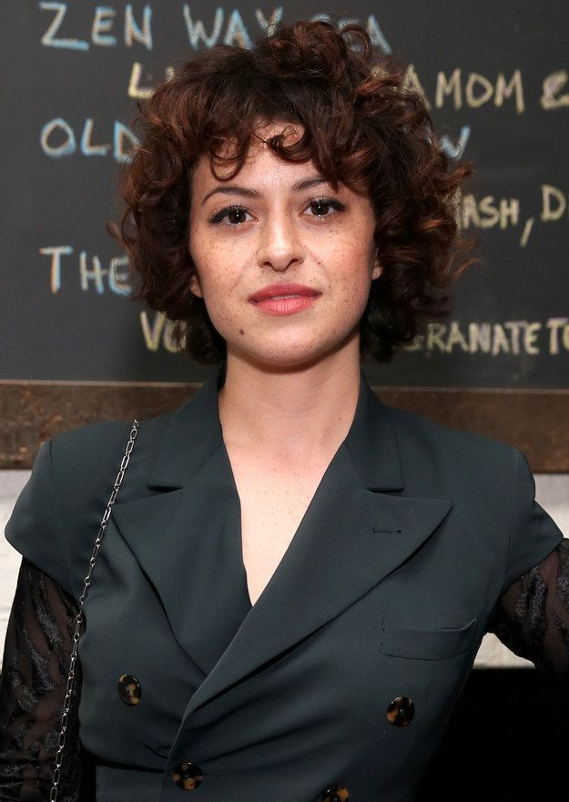 Alia Shawkat | 17 Celebrities Who Totally Rock Their Natural Curls