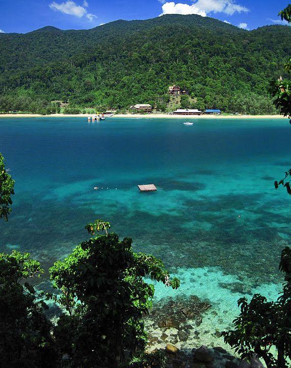 Tioman Island, Malaysia -- where I got my Open Water certification, back in 2004!